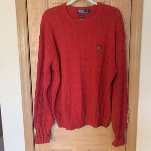 Vintage Polo by Ralph Lauren Cable Knit Sweater